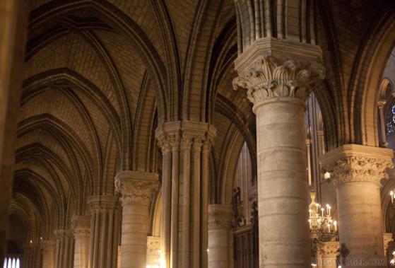 Pilastro Notre Dame de Paris