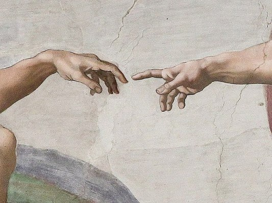 800px-Creation_of_Adam_(Michelangelo)_Detail